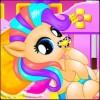 Newborn Baby Pony Princess NetFun Media