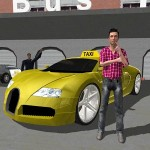 Downtown City Taxi Driver 3D MobileGames