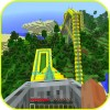Roller Coaster: Minecraft Idea best craft games