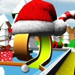 Mini Golf: Retro Christmas Bitof Game
