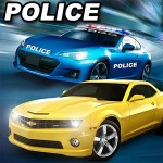 Real Police Car Chase Parking Game Brick Studio