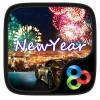 New Year GO Launcher Theme LuckyArt