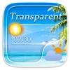 Transparent GO Weather Widgets GOLauncher EX