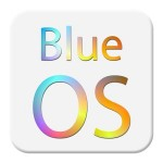 ブルーOSの電話のテーマ PopStudio