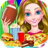 Football Game Day – Food Party Beauty Girls