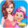 キッチン時の赤ちゃんのゲーム Purple Studio