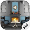 Vintage Blue House Escape Escape Game Studio