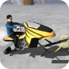Snowmobile Race Speedy Forest World 3D Games