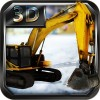 Snow Excavator Simulator 3D World 3D Games