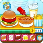 Burger shop fast food LPRASTUDIO