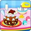 チョコレートケーキ・クッキング LPRASTUDIO