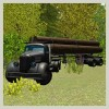 Classic Log Truck Simulator 3D Jansen Games