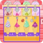 Ice cream cone cupcakes candy LPRASTUDIO