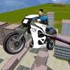 警察バイクシミュレータフライング Clans