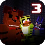Nights at Cube Pizzeria 3D – 3 GamesArcade