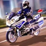 Police Motorcycle Urban Drive MobilePlus