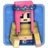ガールズキューブワールド: 探検 PlayCool Zombie Sport Games