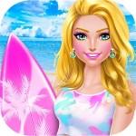 Summer Girls Surfing SPA Salon Beauty Girls