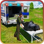 市動物園の動物レスキュートラック Reality Gamefied