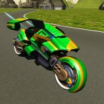 Flying Motorbike Stunt Rider GTRace Games