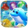 海マニア島:無料マッチ3 GoVuzzle