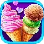 Ice Cream – Summer Frozen Food Crazy Cats