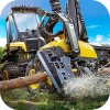 Logging Harvester Truck Game Mavericks