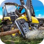 Logging Harvester Truck Game Mavericks