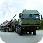 陸軍トラック運転手貨物デューティ GamesOrbit