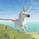 Flying Unicorn Simulator Free GTRace Games