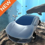 Flying Submarine Car Simulator GTRace Games
