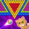 Bubble Shooter Cat Match 3 Bubble Games