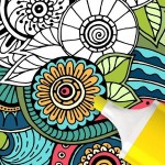 Mandala coloring game ColorJoy