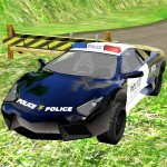 Police Car Chase Offroad i6Games