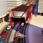高架トランジットバスシミュレータ 3D Bus 2017 Wacky Studios -Parking, Racing & Talking3D Games