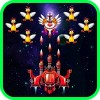 Chicken Shooter: Space Defense Platformer