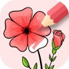 Flowers Coloring Game ColorJoy