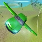 Flying Stunt Car Simulator GTRace Games