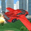 Flying Car Racing 3D i6Games