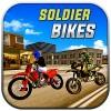シム運転のバイクに兵士 MobilePlus