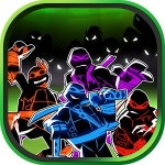 Ninja and Turtle :Shadow Fight Sandos games
