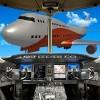 ビッグ飛行機のフライトパイロットシム TheGaminators!