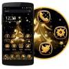 ゴールドのクリスマスツリー Design World