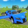 Flying SuperSport Car Sim 3D GTRace Games