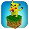 Craft build: Go mine pixelmon Crazy craft and build game
