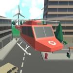 ヘリコプター救助都市エスケープ parking games