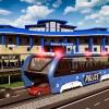 上昇刑務所バス交通 Elevated Police Bus Wacky Studios -Parking, Racing & Talking3D Games