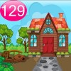 Cartoon Garden House 129 Best Escape Game