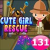Cute Girl Rescue Game 131 Best Escape Game