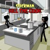 Stickman Kill Cook Gold Stickman Label